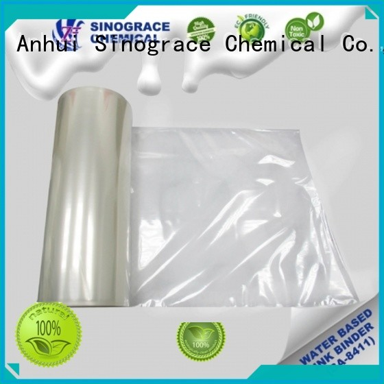 Sinograce Chemical eco-friendly custom binders for sale for material