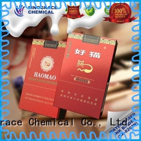 Sinograce Chemical paper ink binder manufacturer for glue