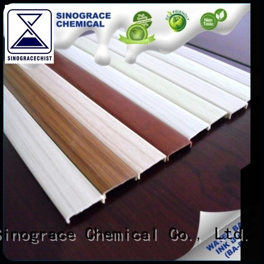 Sinograce Chemical water-based acrylic emulsion supplier for wood