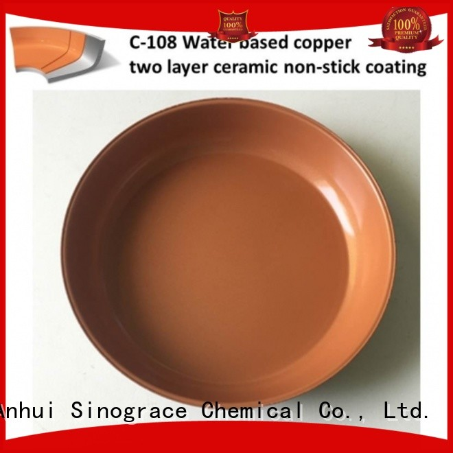 Sinograce Chemical ceramic nonstick cookware supplier for material