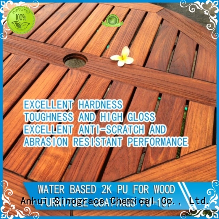 non toxic best water based polyurethane for furniture manufacturer for furniture